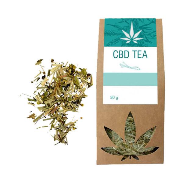CBD Tea Boxes Retail