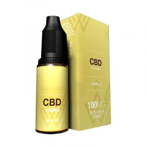 CBD Vanilla Oil Boxes Manufacturer