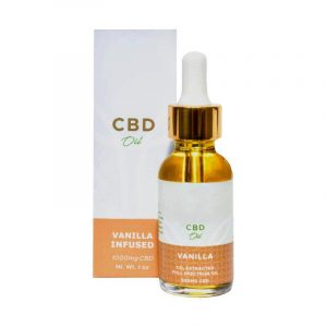 CBD Vanilla Oil Boxes Retail