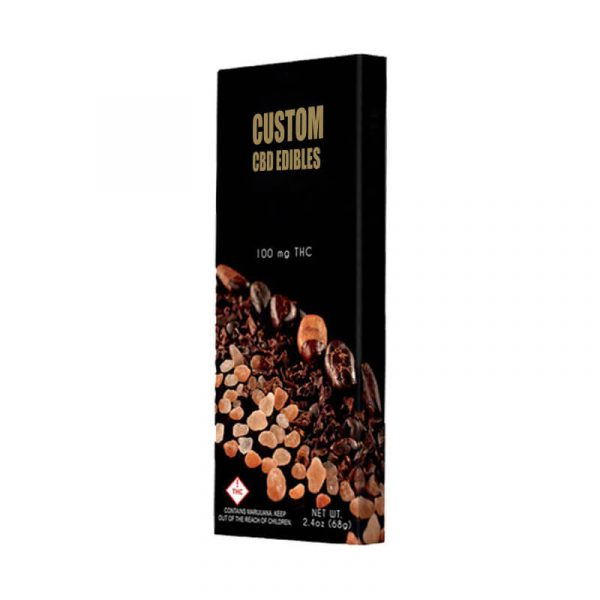 Custom CBD Edibles Boxes Manufacturer