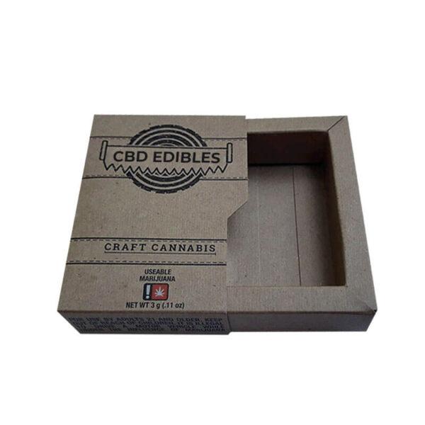 Custom CBD Edibles Boxes Wholesale