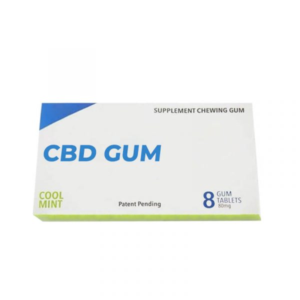 Custom CBD Gum Boxes With Free Shipping