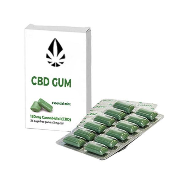 Custom CBD Gum Boxes Wholesale