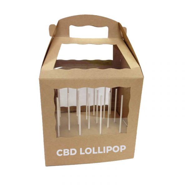 Custom CBD Lollipop Boxes Manufacturer