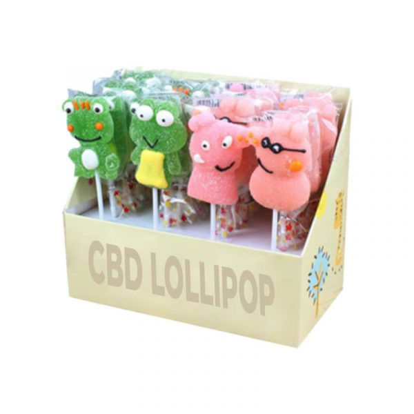 Custom CBD Lollipop Boxes Printed