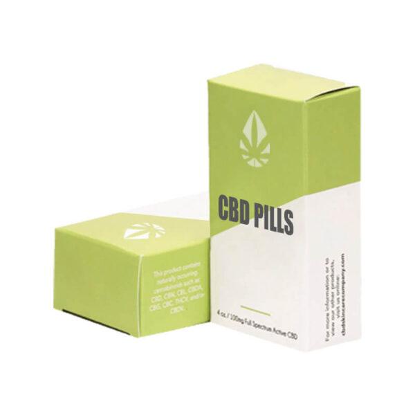 Custom CBD Pills Boxes Retail