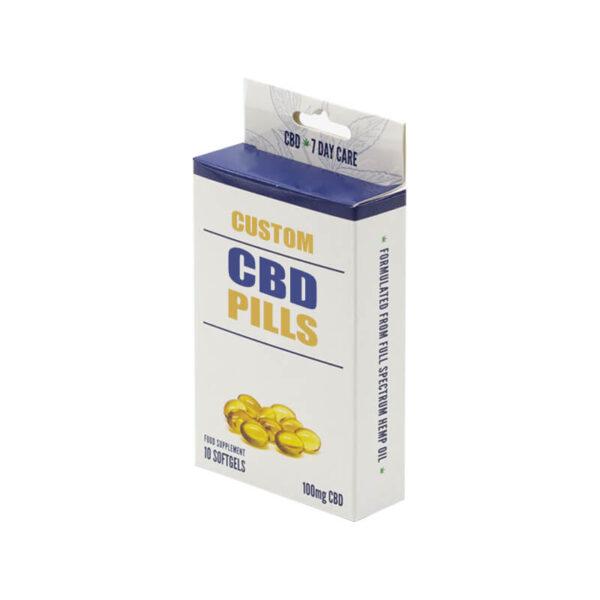 Custom CBD Pills Boxes Wholesale