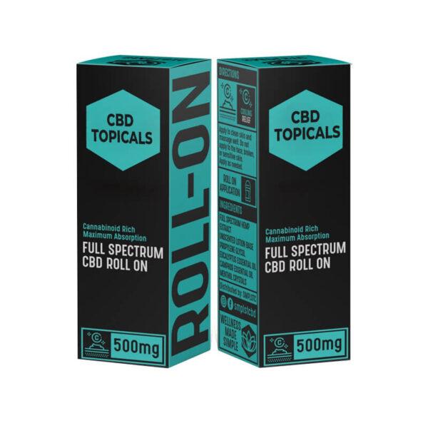 Custom CBD Topicals Boxes Retail