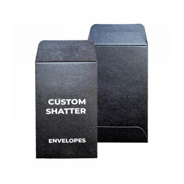 Custom Shatter Envelopes Retail