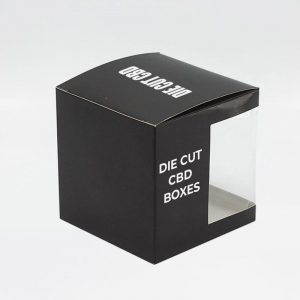 Die Cut CBD Boxes Customized