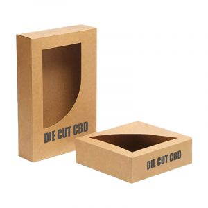 Die Cut CBD Boxes Printed