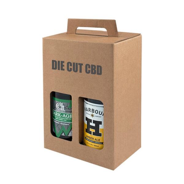Die Cut CBD Boxes Custom