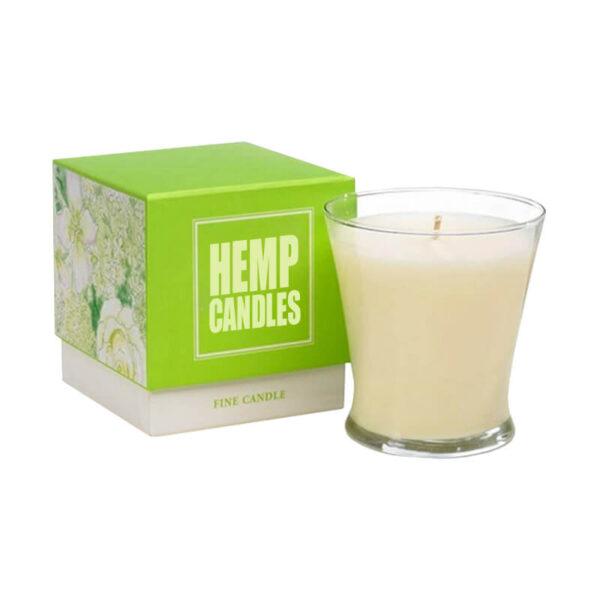 Hemp Candles Boxes Custom