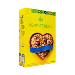 Hemp Cereal Boxes Retail