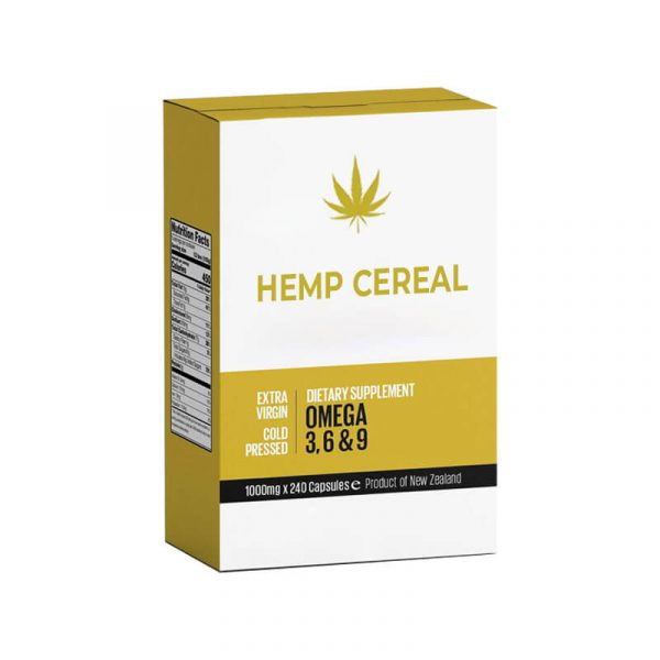 Hemp Cereal Boxes Customized