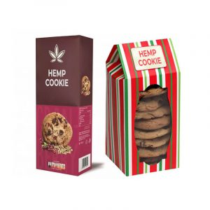 Hemp Cookie Boxes Packaging