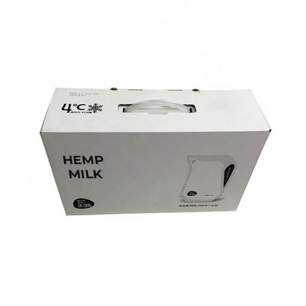 Hemp Milk Boxes Wholesale