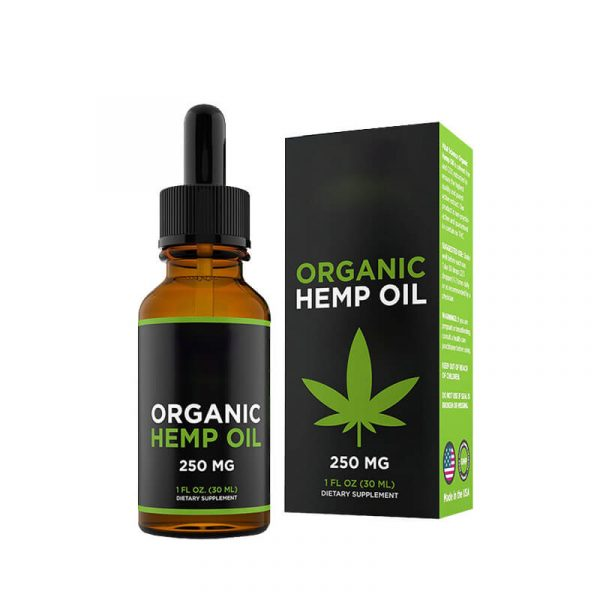 Hemp Oil Boxes Custom