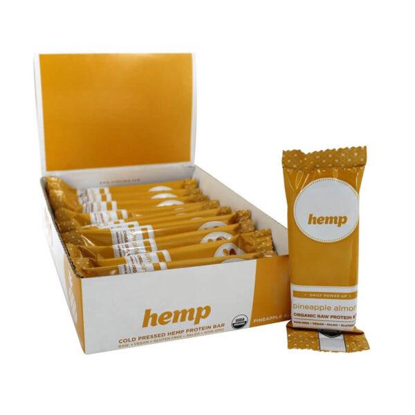 Hemp Protein Bar Boxes Packaging