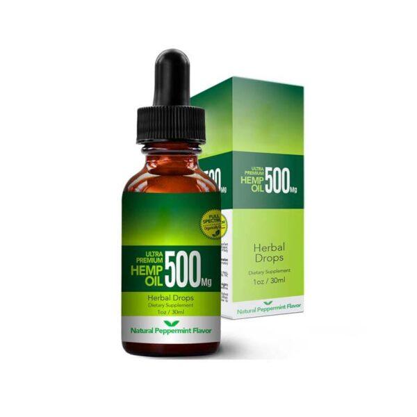 Natural CBD Oil Boxes Wholesale