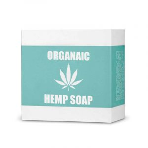 Organic Hemp Soap Boxes Retail