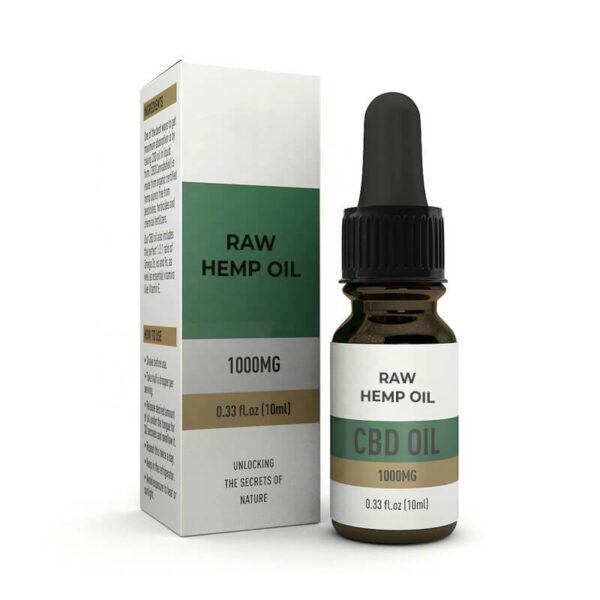 Raw Hemp Oil Boxes Customized